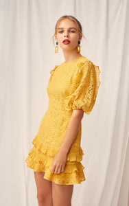 Timeless Lace Mini Dress Keepsake the Label