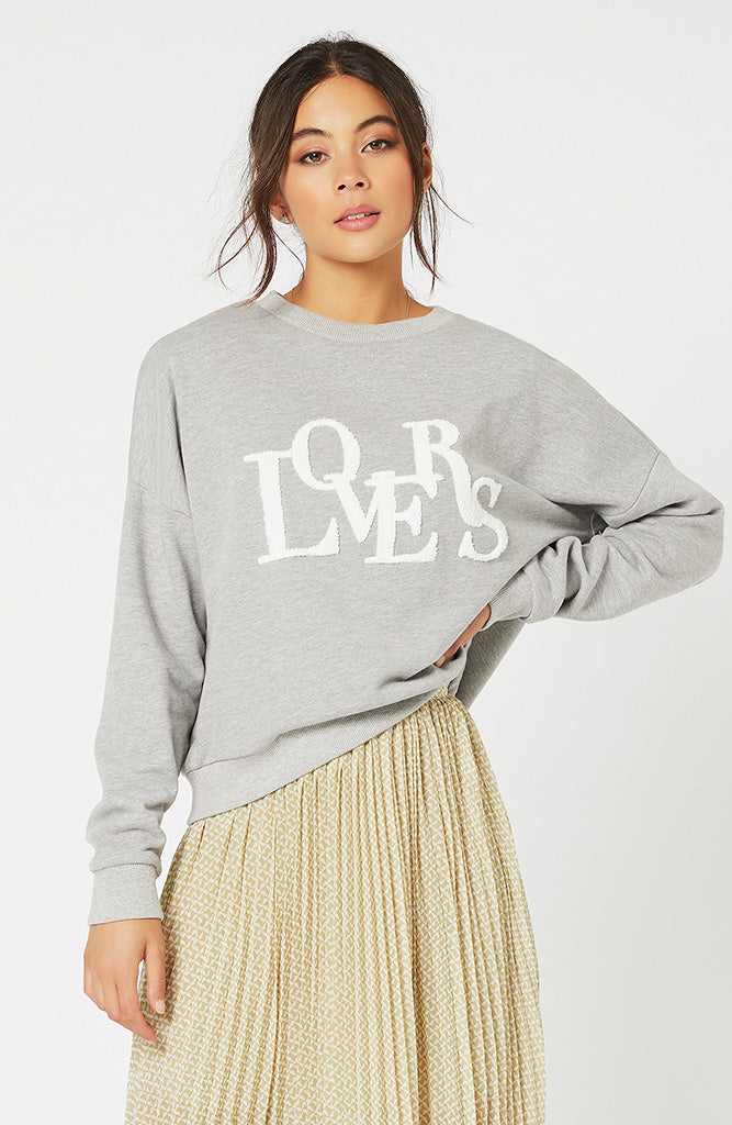 True Lovers Sweat Top by MINKPINK
