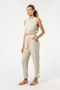Rumi Linen Pant Nude Lucy