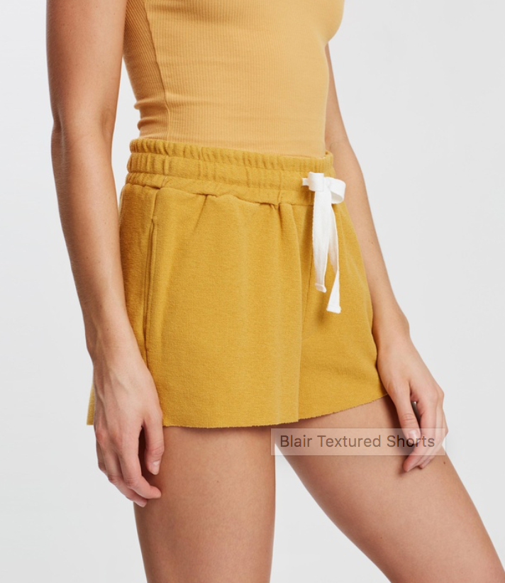 Blair Textured Short Nude Lucy The Label