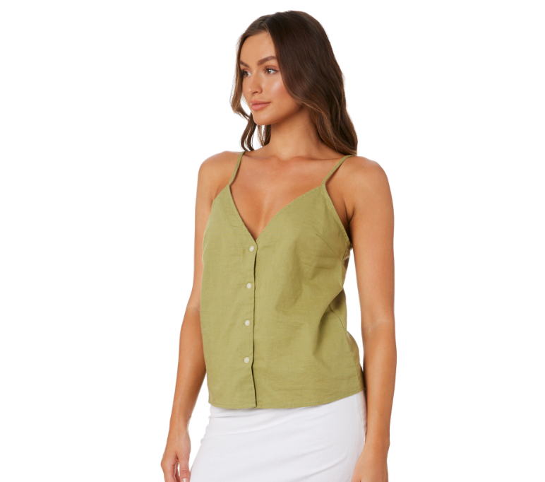 Mina Linen Cami by Nude Lucy