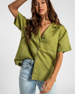 Albion Linen Shirt by Nude Lucy