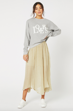 London Calling Pleat Skirt by MINKPINK