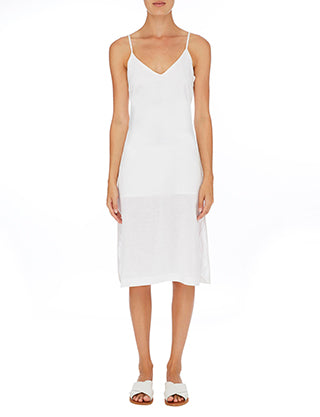 Nude Lucy Albion linen Cami dress