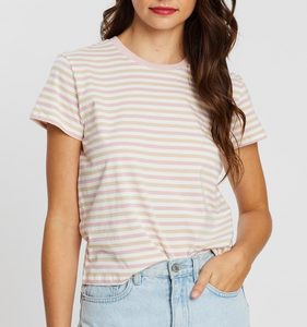 Taylor Ringer Tee Nude Lucy