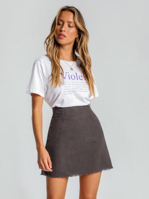 Demi Linen Skirt by Nude Lucy