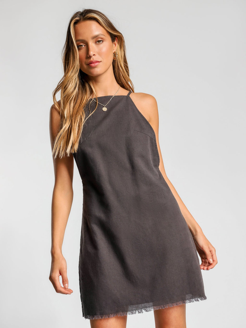 Nude Lucy Demi linen dress