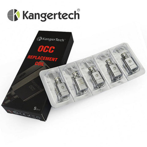"Kanger SubTank ""OCC"" Replacement Coils (5pk) 0.5ohm"