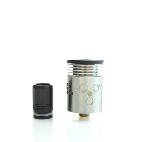 Indulgence Mutation X V3 Rebuildable Drip Atomizer - STAINLESS