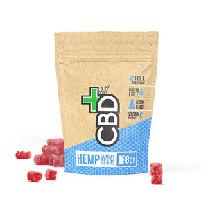 CBD Gummies 8ct Pouch - 40mg