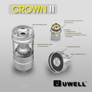 Crown 2 Sub-Ohm TC Tank by Uwell