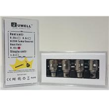 Crown by UWELL Ni200 Nickel 0.15ohm, 0.5ohm Coils (Pack of 4)