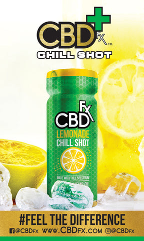 CBD Chill Shot - Lemonade Flavor- 20mg