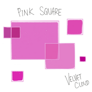 Velvet Cloud - Pink Square