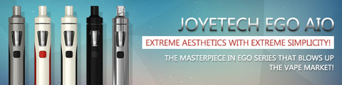 JoyeTech eGo AIO Starter Kit - Best Starter Kit for the beginners - Simply and Easy to use.