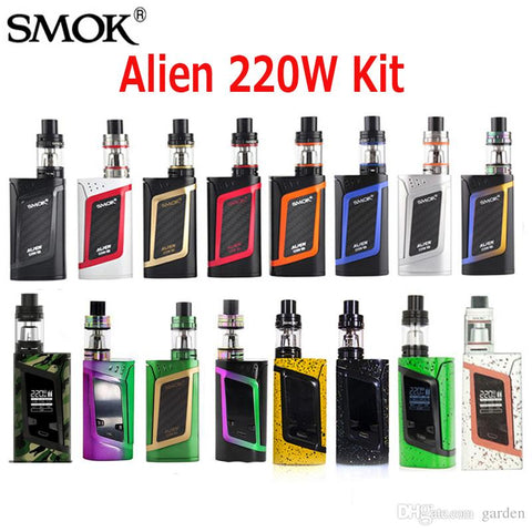 SMOKTech Alien 220W TC with TFV8 Baby Beast TC Starter Kit