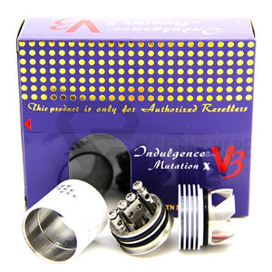Indulgence Mutation X V3 Rebuildable Drip Atomizer - WHITE