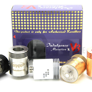 Mutation Indulgence X V3 Rebuildable Drip Atomizer - BRASS