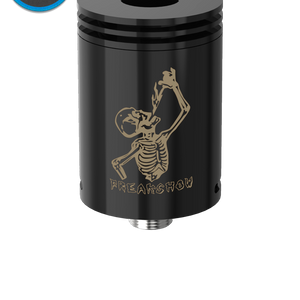 Freakshow RDA by Wotofo Authentic - BLACK