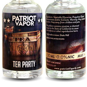 Patriot Vapor - Tea Party