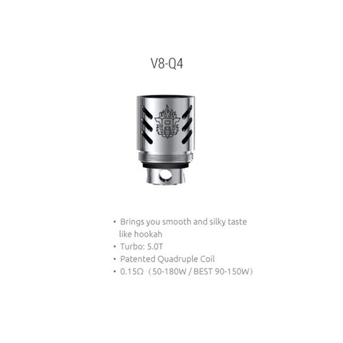 SMOK V8-Q4 Quadruple Replacement Coil (3 Pack)