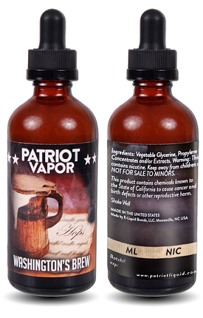 Patriot Vapor - Washington's Brew