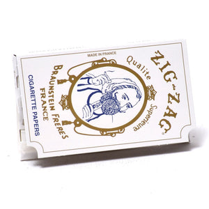 Zig-Zag paper comes in the 70mm Single Wide Gummed iconic white booklet