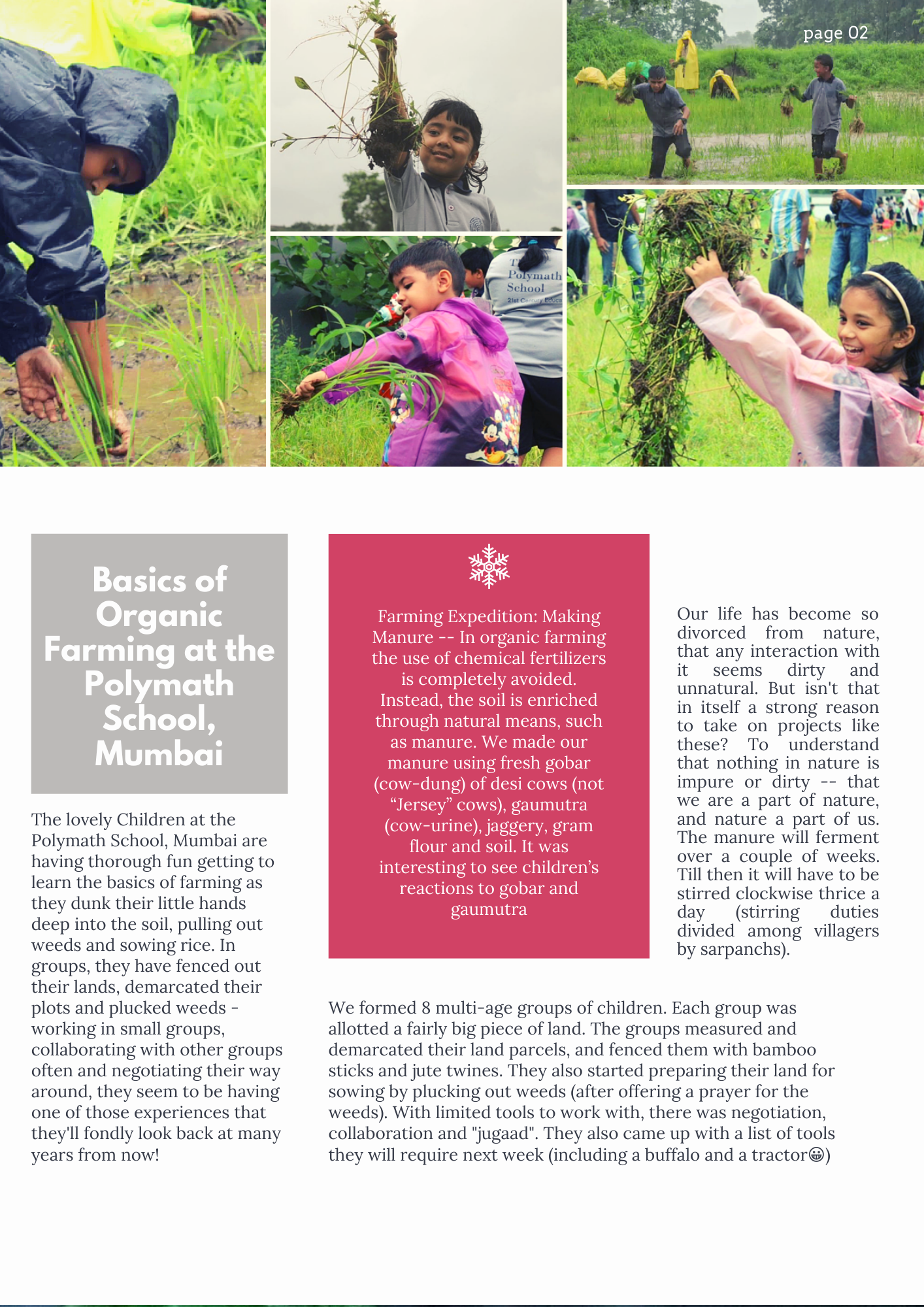 farmer diaries, farmer's magazine, chef thomas zaccharias, chef tzac, bombay canteen, polymath school, two brothers organic farms, organic farming, farmers of india, maharashtra farming, India