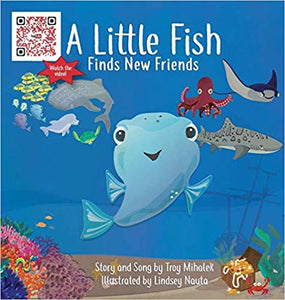 A Little Fish Finds New Friends (24 pages)