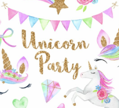 Throw a unicorn themed party