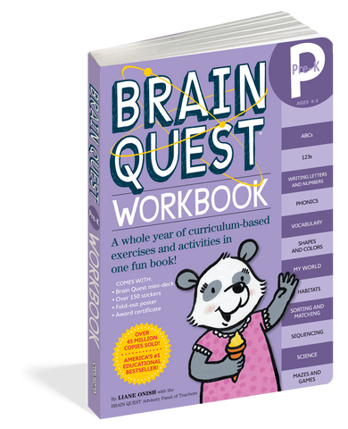 Brainquest Workbooks Pre-K