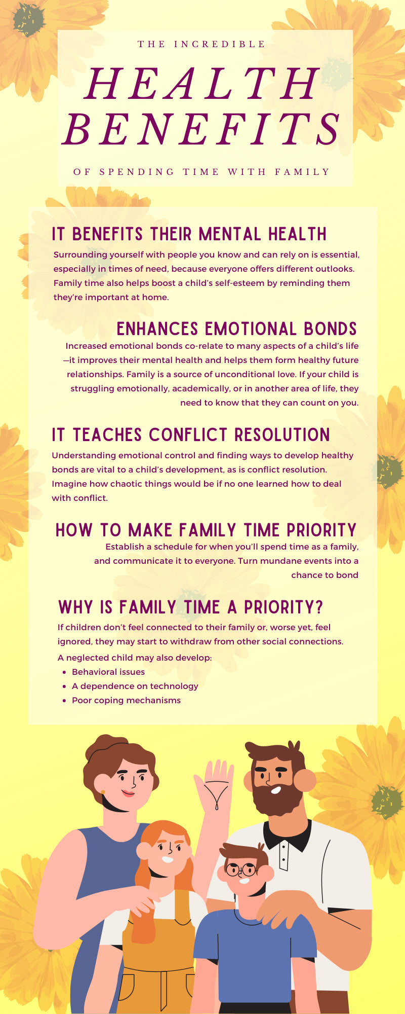 The Incredible Health Benefits of Spending Time With Family