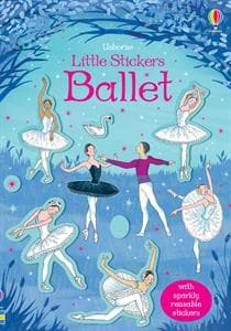 Usborne Books Little Stickers Ballet - Legacy Toys