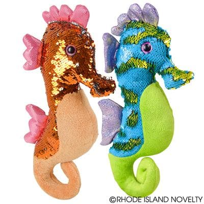 "The Toy Network 15"" Sequin Sea Horse - Legacy Toys"