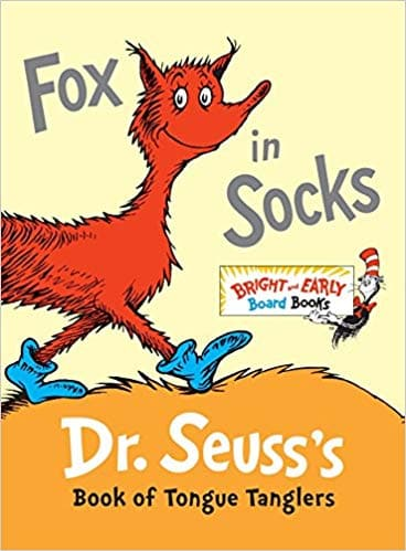 Fox in Socks - - Big Bright and Early Board Book