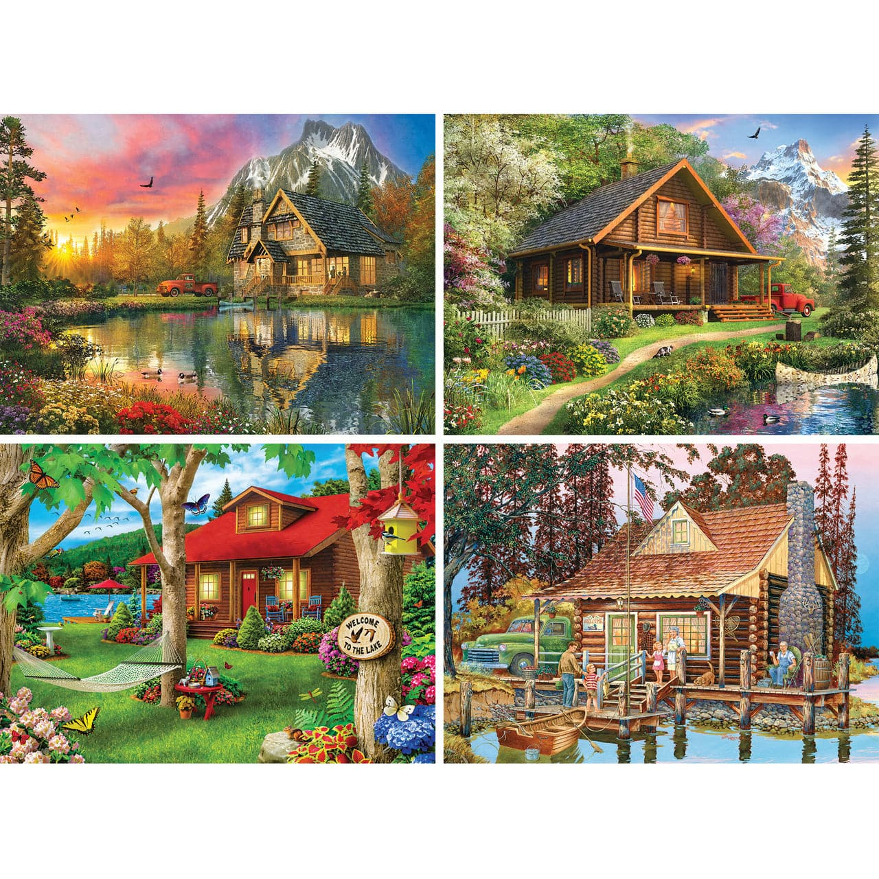Great Outdoors - Mountain Retreat - 500 Piece Puzzle