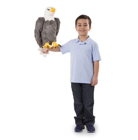 Melissa & Doug Bald Eagle - Lifelike Animal Giant Plush - Legacy Toys