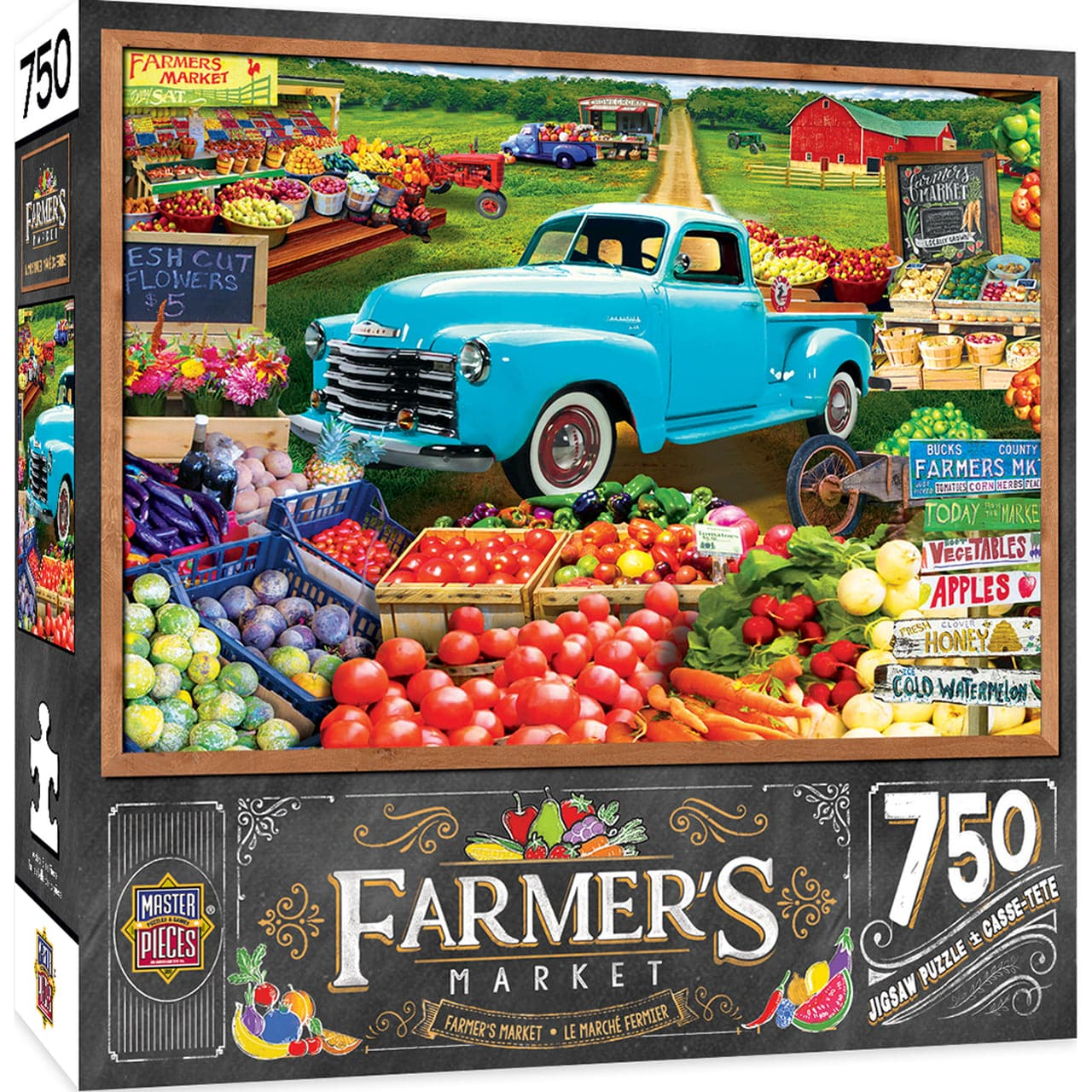 Farmer's Market - Locally Grown - 750 Piece Puzzle