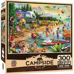Masterpieces Campside - Day at the Lake - 300 Piece Puzzle - Legacy Toys