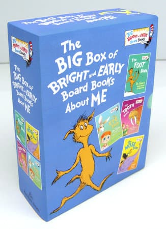 Big Box of Bright & Early Board Books About Me