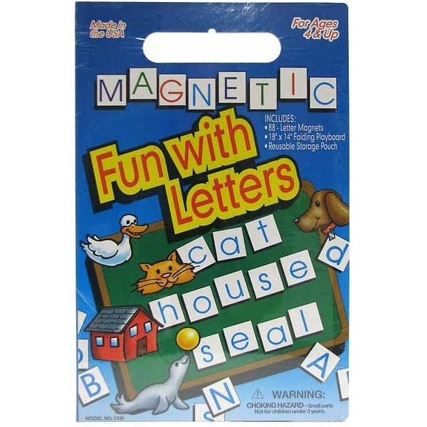 Create A Scene - Magnetic Fun with Letters