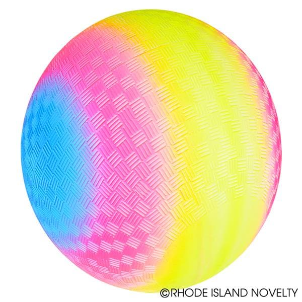 "9"" Rainbow Playground Ball"