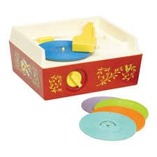 Fisher Price Classics Music Box Record Player