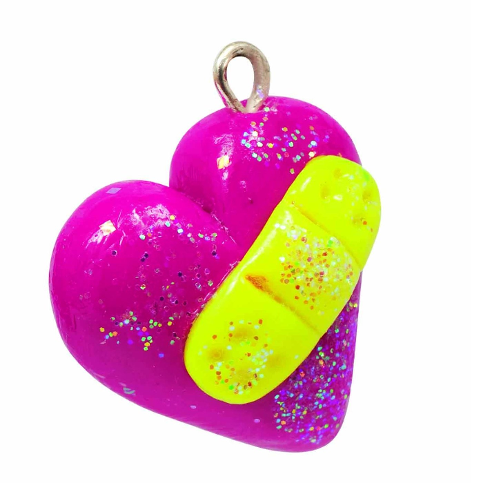 Klutz Make Glitter Clay Charms - Legacy Toys