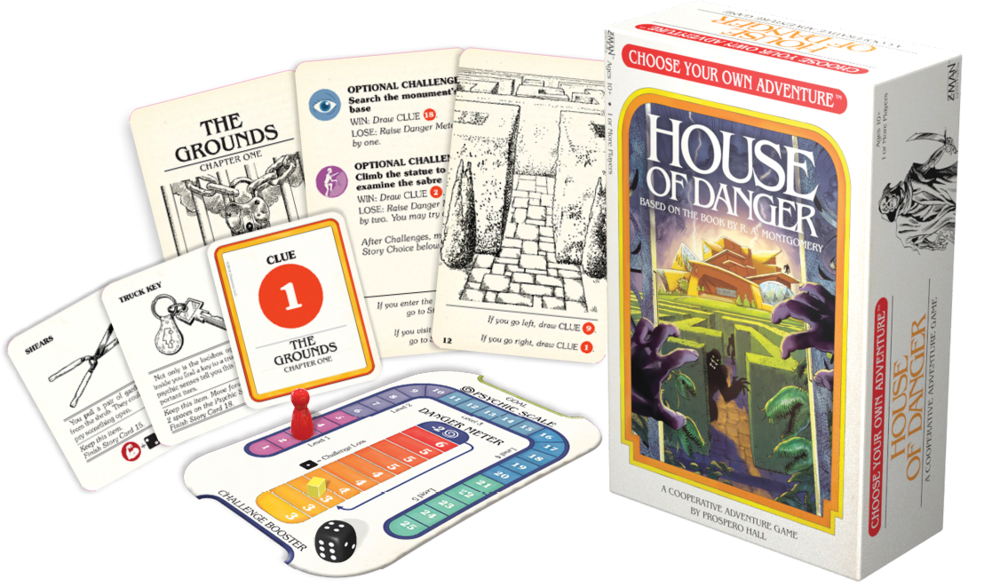 Z-Man Games Choose Your Own Adventure: House of Danger - Legacy Toys
