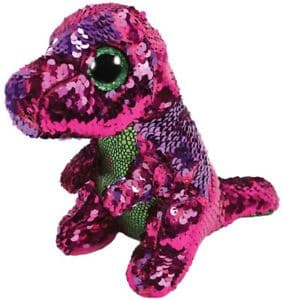 "TY Beanie Boos - Flippables - Stompy T Rex - Small 6"" - Legacy Toys"