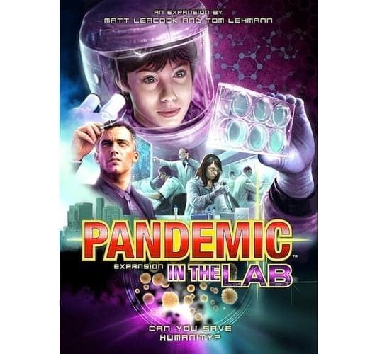 Pandemic Board Game - In The Lab Expansion