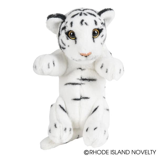 "8"" Jungle Cubbies White Tiger"