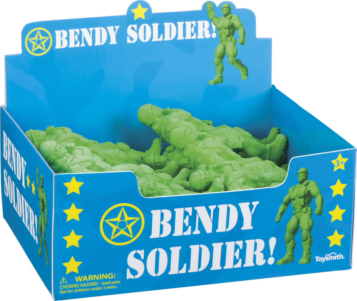 Toy Smith Bendy Soldier - Legacy Toys