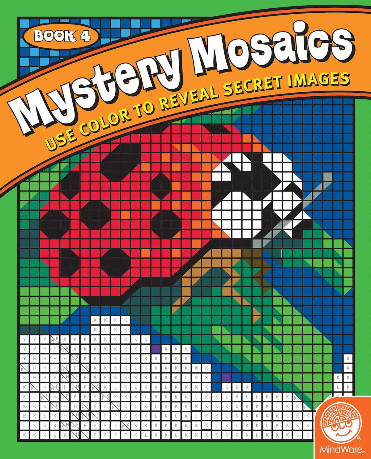Color By Number - Mystery Mosaics - Book 4